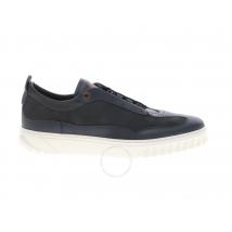 Salvatore Ferragamo Men's Aaron Sneakers in Dark Grey 02B400 709256