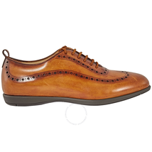 Sutor Mantellassi Men's Lace Up Light Brown Oxford Wingtip Antq Finsh, Brand Size 7 SOXWID37X0WALSHCHESTER
