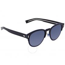 Dior Blacktie Blue Mirror Round Sunglasses BLACKTIE2.0S J TGP/KU 52
