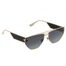 Dior Dior Clan 2 Gray As Geometric Ladies Sunglasses DIOR CLAN2 0J5G 1I 61 DIOR CLAN2 0J5G 1I 61