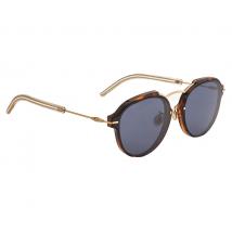 Dior Dior Eclat Blue Grey Oval Ladies Sunglasses DIORECLAT UGM/72 60 DIORECLAT UGM/72 60