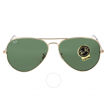 Ray Ban Aviator Gold Aviator Sunglasses RB3026 L2846 62-14