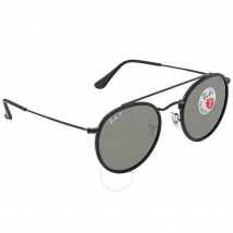 Ray Ban Polarized Green Classic G-15 Round Sunglasses RB3647N 002/58 51 RB3647N 002/58 51