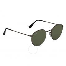 Ray Ban Round Gunmetal Sunglasses RB3447 029 50