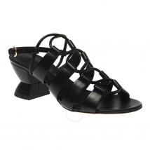 Salvatore Ferragamo Black Lace-Up Heels 01P699 713277