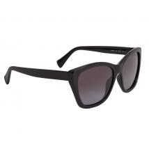 Salvatore Ferragamo Salvatore Ferragamo Grey Gradient Cat Eye Ladies Sunglasses SF957S 001 56 SF957S 001 56