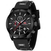 Đồng hồ nam chính hãng Mini Focus sang trọng - Color: Black NEW