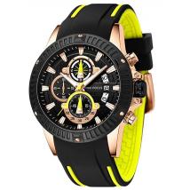 Đồng hồ nam chính hãng Mini Focus sang trọng - Color: Yellow NEW