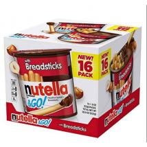 Thùng 16 Hộp Bánh Que Chấm Socola Hạt Dẻ Nutella