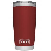 Ly giữ nhiệt YETI 20 oz Rambler Tumbler with MagSlider Lid màu BRICK RED 600ml Nhập Mỹ cao cấp