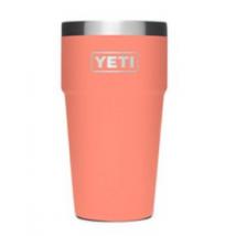 Ly Yeti 16oz kèm nắp magslider  – màu Coral (cam san hô)