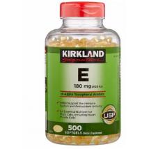 Kirkland Viên Uống Bổ Sung Vitamin E 180mg 500 Viên