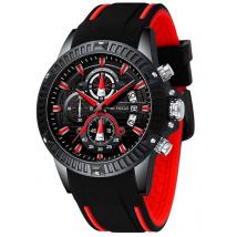 Đồng hồ nam chính hãng Mini Focus sang trọng -Color: Red NEW