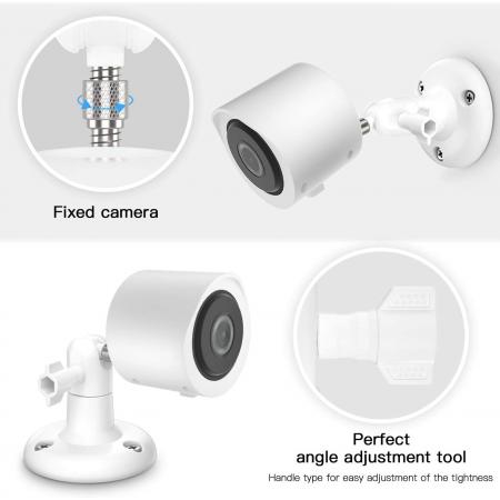 Camera ngoài trời Aobelieve Outdoor Wall Mount and Cover for Yi Home Camera 3, Màu trắng , Bộ 2 cái