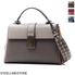 Bottega Veneta Ladies Small Piazza Shoulder Bag in Gray/Brown W/Widerstrap 493690 VCGP0 2933