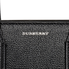 Burberry Small Banner Leather Tote- Black 4076748