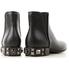 Dolce and Gabbana Dolce & Gabbana Ladies Black Leather Chelsea Boots CT0445 AV676 80999