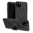 Ốp Lưng Shockproof Rugged Hybrid Armor Hard Case Stand Cover cho Iphone 12 Promax
