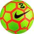 NIKE STRIKE X FUTSAL BALL (VOLT/ELECTRIC GREEN/HYPER ORANGE)