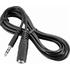 Insignia™ - 6' 3.5mm Mini Audio Extension Cable - Black