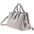 Bottega Veneta Ladies Top Handle bag Roma Gray Bv Roma Small Roma Intr 489509 VQ13B 1519