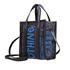 Balenciaga Ladies XS Bazar Crossbody bag Bazar in Black/Blue 513989 0VS1N 1071